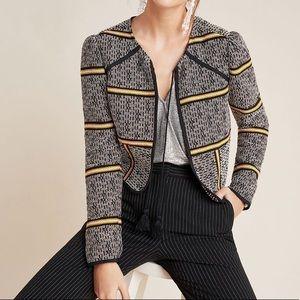 Anthropologie Dolan Striped Jacket Size Large